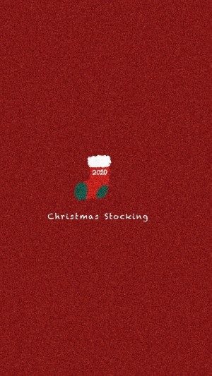 简单可爱圣诞节卡通手机壁纸