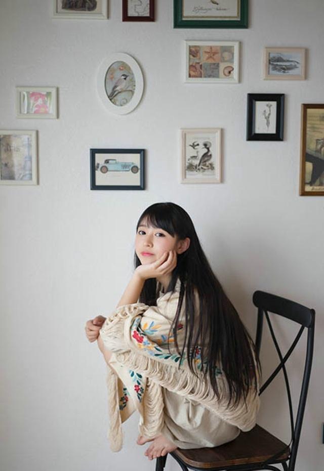 清纯贤淑家居少女小清新甜美阳光气质写真