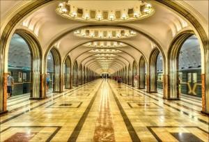 莫斯科马雅科夫斯基地铁站