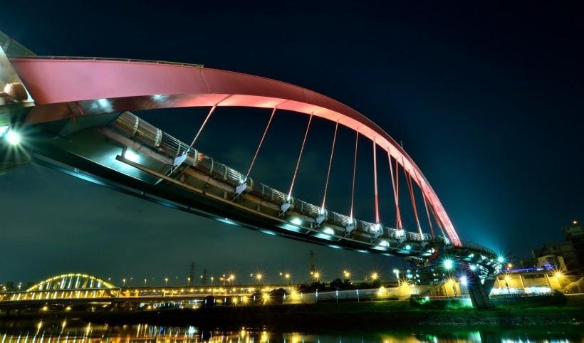 臺灣燈光夜景圖片