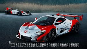 2019年1月迈凯轮超级跑车日历壁纸