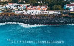 2020年6月海边超美风景高清日历壁纸