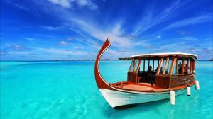 马尔代夫唯美自然风景图片