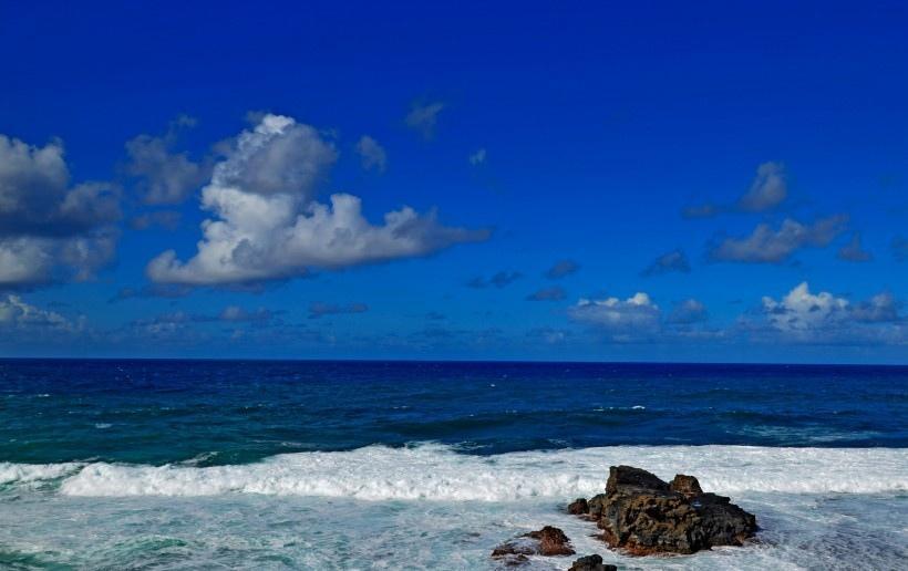 印度洋海岸风景写真