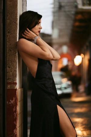 安娜·德·阿玛斯Ana De Armas性感街拍图片