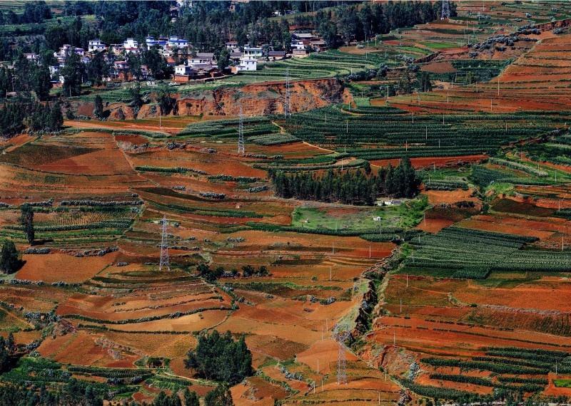 云南东川风景图片