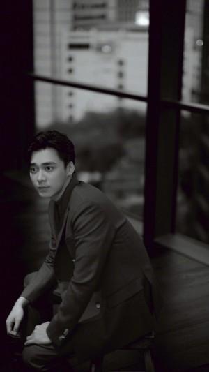 帥氣型男西裝男孩李易峰時尚寫真