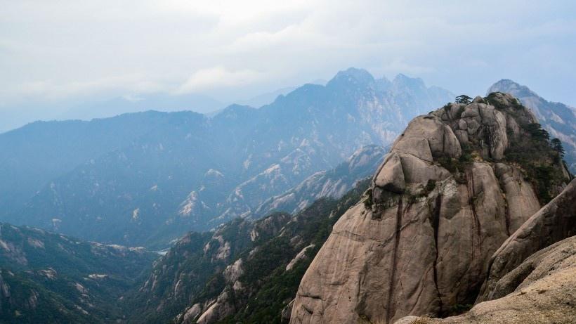 安徽黄山风景