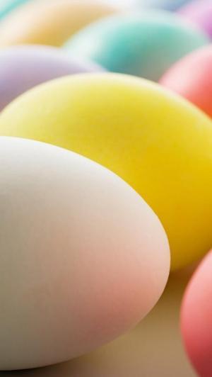 可爱浪漫的复活节彩蛋