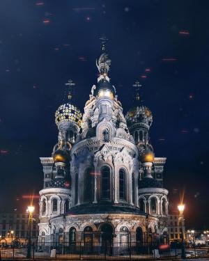 圣彼得堡壮观风景图片