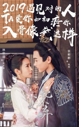 《小女花不弃》林依晨张彬彬春节文字海报图片