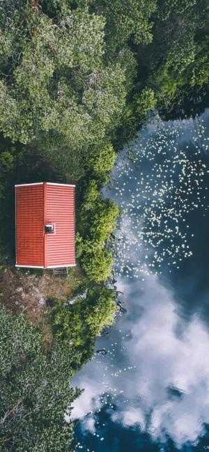 大自然航拍唯美风景摄影高清手机壁纸