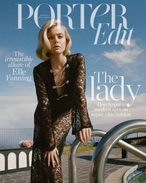 艾丽·范宁时尚杂志封面写真图片