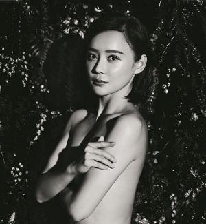 性感女神袁姗姗半裸登封面