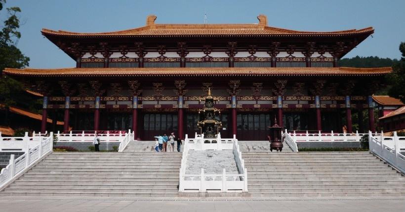 湖北武汉嵩阳寺风景图片