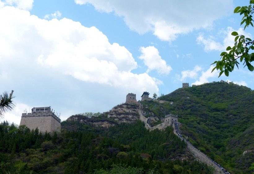 北京居庸关风景图片
