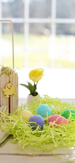 复活节小清新彩蛋图片
