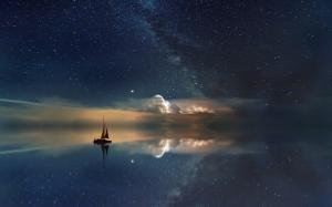 绚丽唯美的星空图片