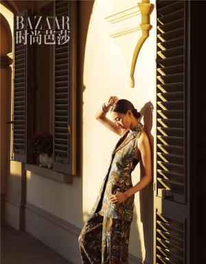 张钧甯英气俊朗欧式风格时尚写真大片