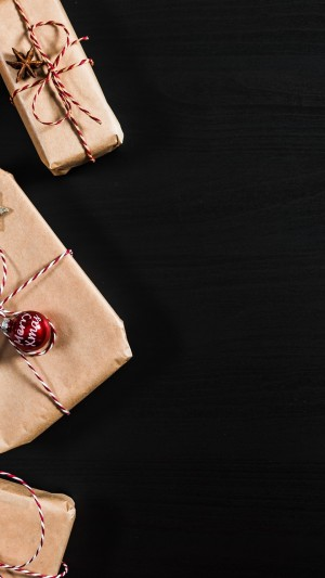圣诞节精致礼物图片壁纸