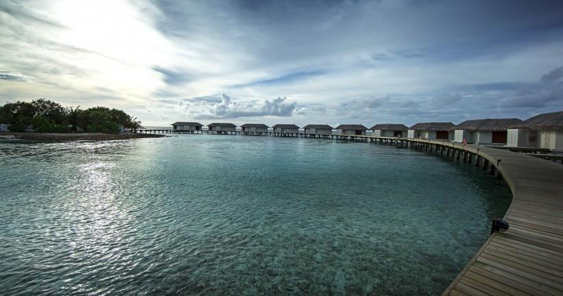 马尔代夫风景写真图片