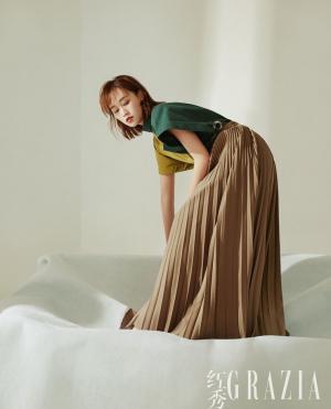 蓝盈莹干练短发精致妆容造型前卫时尚有型写真图片