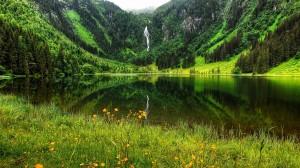 哈尔施塔特静谧风景图片