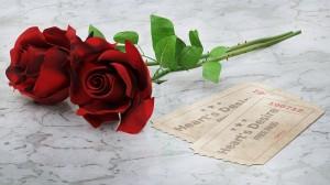 唯美娇艳的红玫瑰图片桌面壁纸