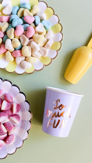 各种各样的香甜多彩软糖