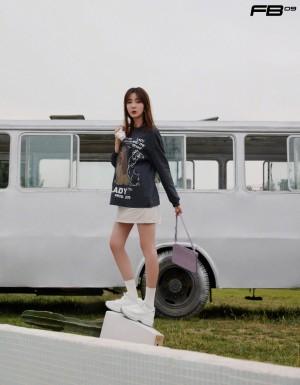 米露时尚潇洒写真图片