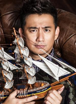 爸爸去哪儿第二季黄磊搞怪表情写真,黄磊图片