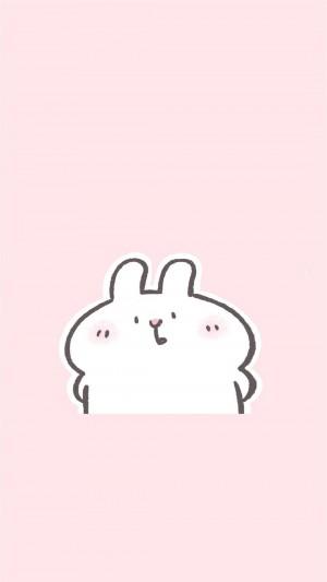 可爱小兔子萌系卡通高清手机壁纸