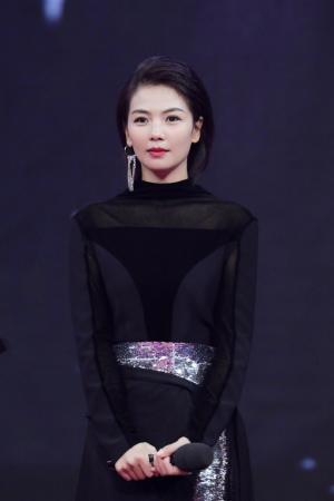 刘涛《我们都要好好的》电视剧发布会典礼美照