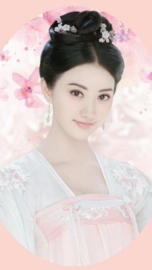 景甜大唐荣耀古装唯美剧照图片