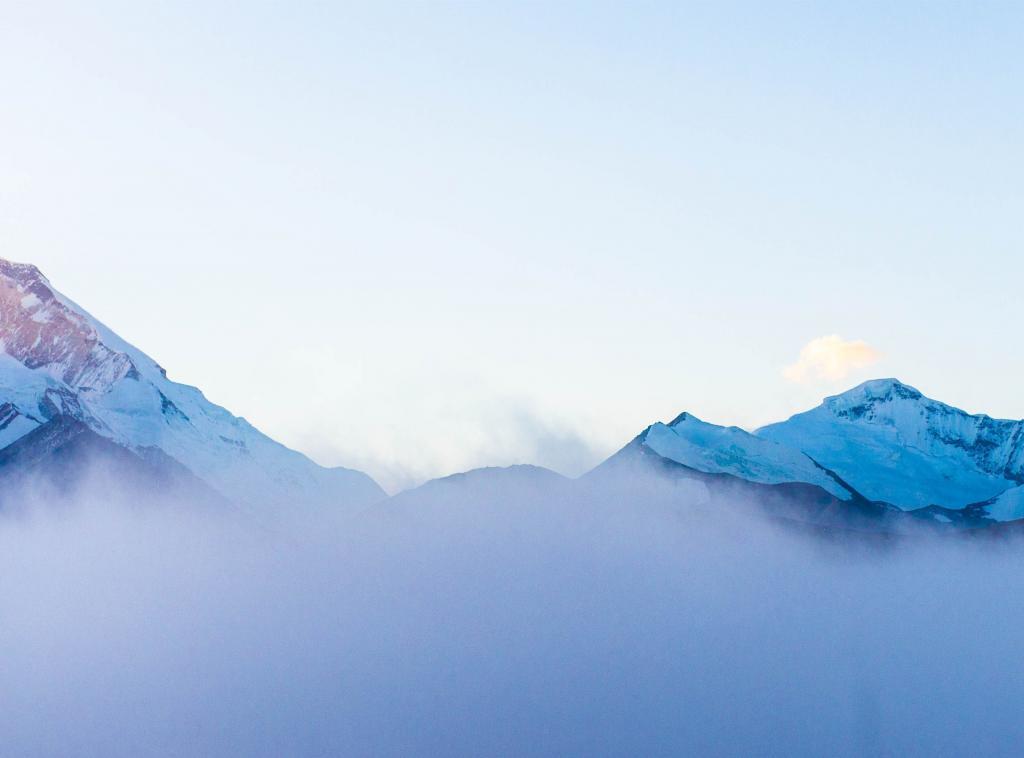 壮观云海风景图片