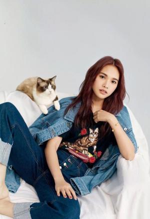 杨丞琳时尚杂志封面写真