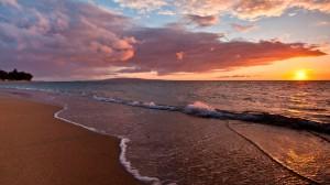 波澜秀美海洋风景桌面壁纸