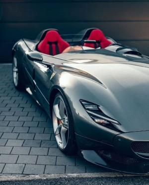 法拉利Ferrari Monza SP2超酷跑车实拍图片