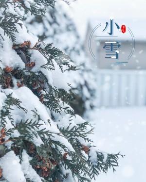 小雪节气之唯美雪景图片壁纸