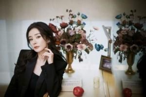 性感美女明星杨幂妩媚优雅写真