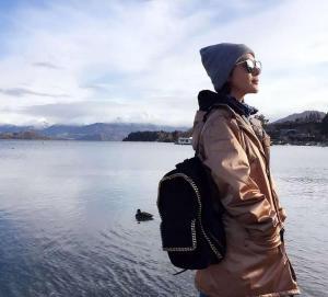气质美女邓家佳澳洲旅行照随拍