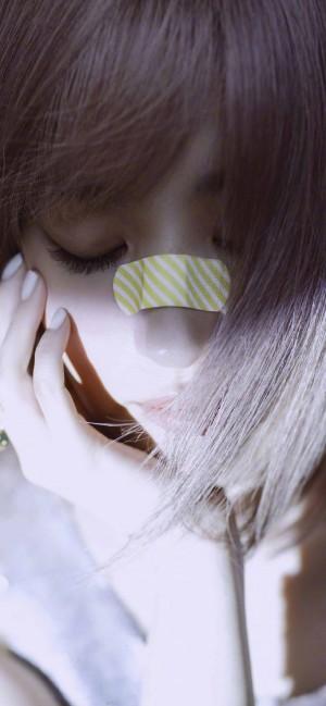 刘亦菲时尚酷美大片写真手机壁纸