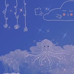 清新可爱的蓝天白云