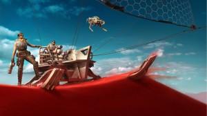 《战争机器5》原画炫酷高清桌面壁纸