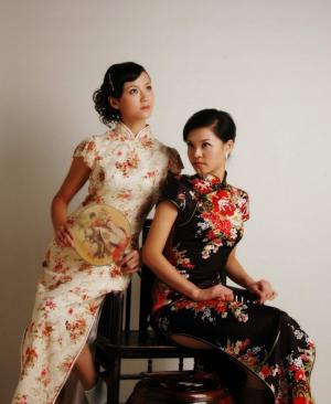 古装旗袍美女图片