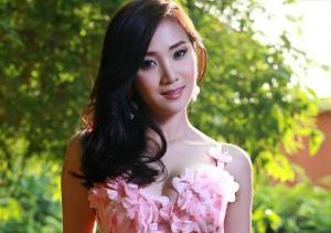 泰国模特张慧敏性感最新艺术写真