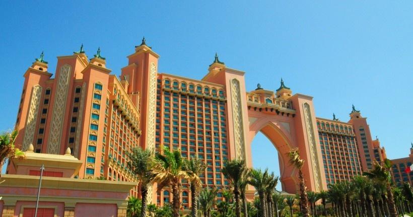 棕榈岛亚特兰蒂斯酒店风景图片