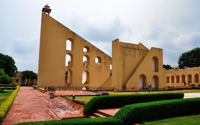 印度斋浦尔古天文台风景