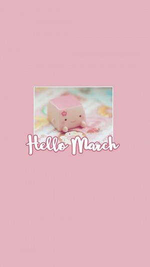 三月你好,全新的开始