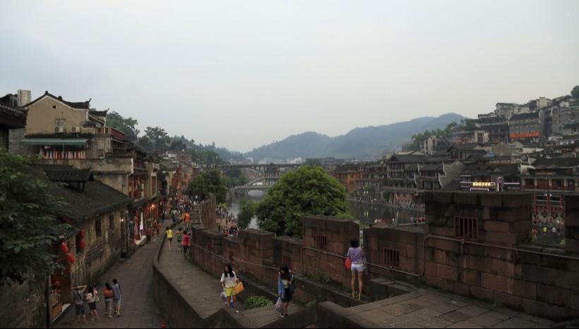 四川沱江风景写真